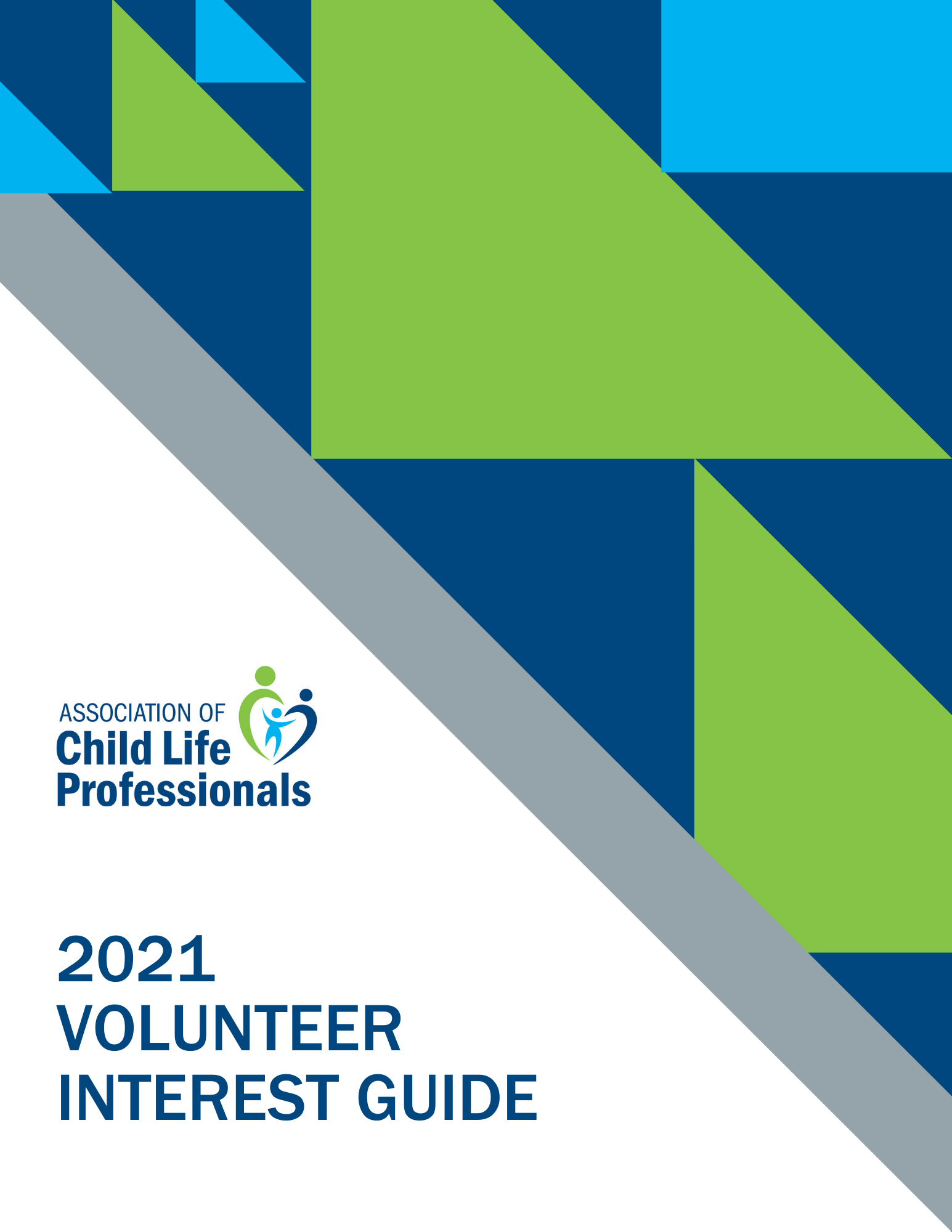 2021 Volunteer Interest Guide Cover Image
