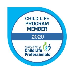 Child Life Program Badge