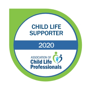 Child Life Supporter Badge